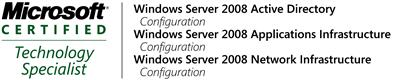 MCTS Windows 2008