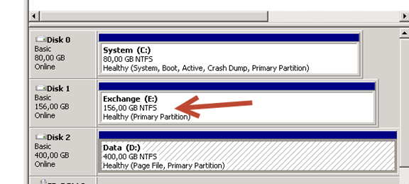 After partition extend file system displays wrong disk size